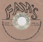 SALE ITEM - Aston 'Familyman' Barrett - Well Pleased / Pleasing Dub (Fam's / Dub Store Records) JPN 7""